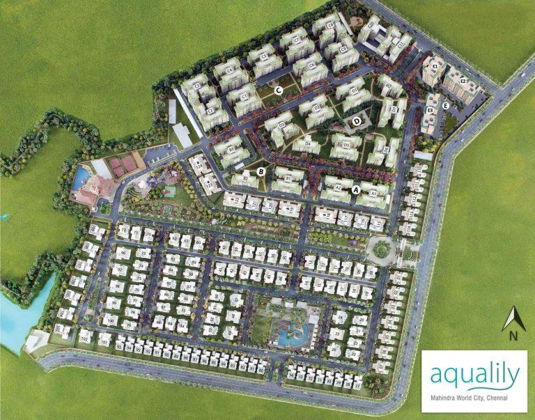 Mahindra Aqualily Project Master Plan