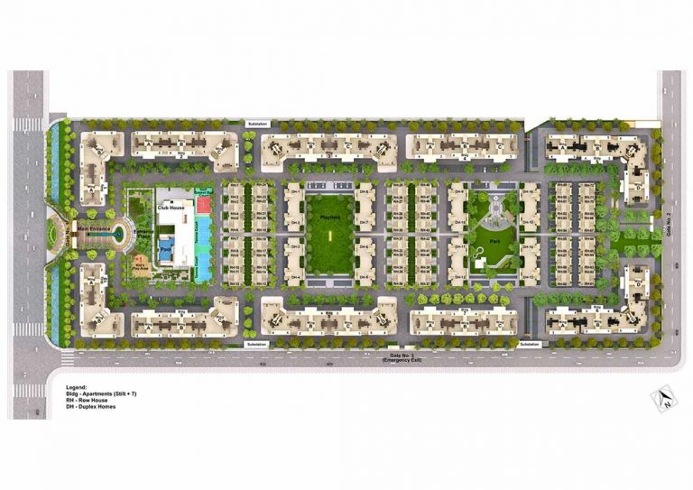 Mahindra Bloomdale Master Plan