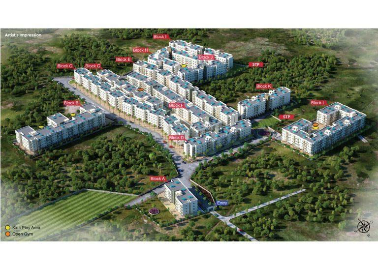 Mahindra Happinest Avadi - Master Plan