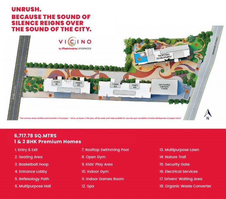 Mahindra Vicino Master Plan