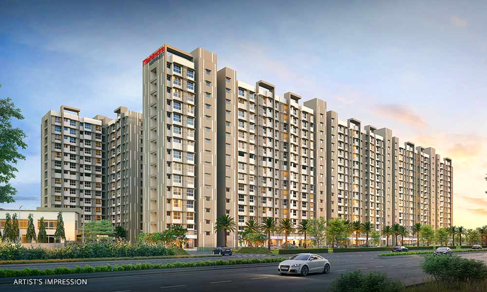 Mahindra Happinest Kalyan Elevation Image