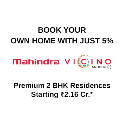 Book your own home with just 5%*