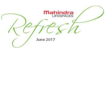 Mahindra Lifespaces Refresh Logo